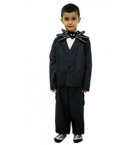 Jack Skellington kostüm inspiriert (1 bis 12 jahre) - 10 bis 12 (Halloween Jack Kostüm Skellington)