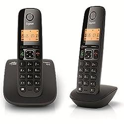 Gigaset A530 DUO Cordless Landline Phone Black