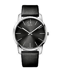 Idea Regalo - Calvin Klein Orologio da Uomo Analogico al Quarzo con Cinturino in Pelle - K2G21107