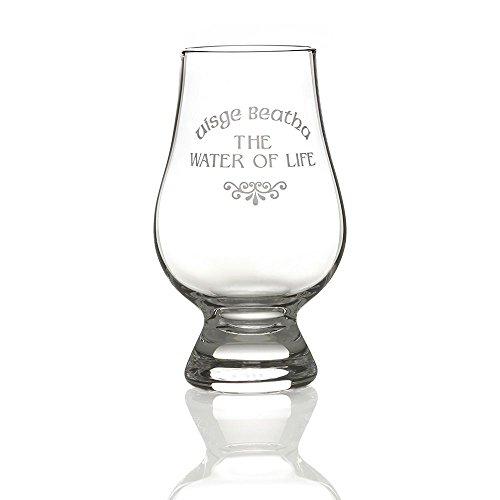 Eburya Water of Life - Das Original Glencairn Whisky Tasting Glas aus Schottland Crystal Water Tumbler