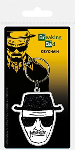Breaking bad - heisenberg wanted portachiave (6 x 4cm)