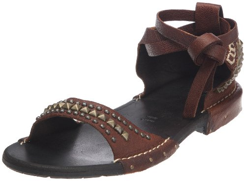 Fruit Pop, Damen Sandalen Beige (Cognac)