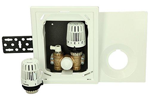 UP-Einzelraumreg Multibox K-RT Lmit Thermostatventil und RTL, weiß, 9301-00.800