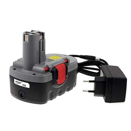 Akku für Bosch Hobel GHO 18V O-Pack Li-Ion inkl. Ladegerät, 18V, Li-Ion