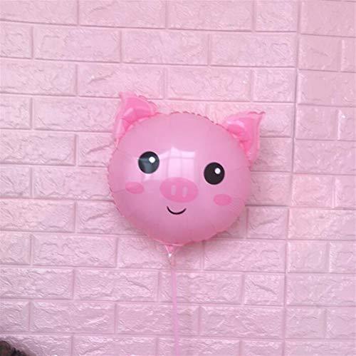 Driverder Spaß-Party-Dekoration 18 Zoll Cartoon Tier Aluminiumfolie Ballon Unterstützung Pole Aluminiumfolie Ballon ()