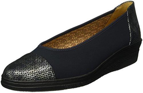Gabor Shoes Comfort Basic, Mocassini Donna, Blu (Ocean/Blue 86), 38 EU