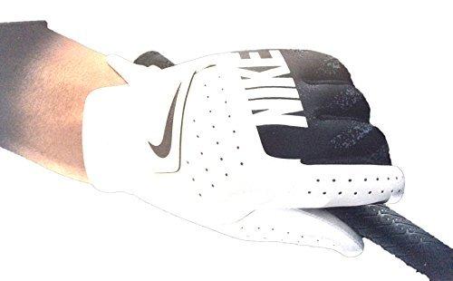 Nike Kids' Sport Golf Glove LH White/Black Medium (Personalisierte Golf-handschuhe)