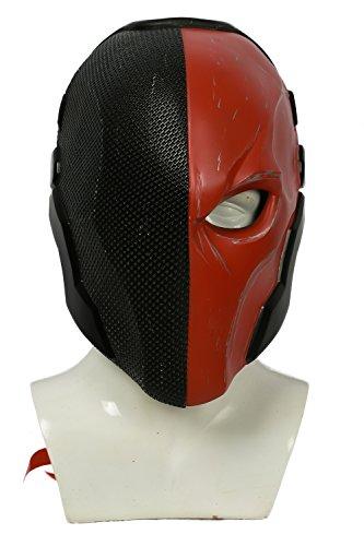 Ritter Resin Maske Halloween Verrücktes Kleid für Erwachsene Kleidung Merchandise (Kostüm Deathstroke)