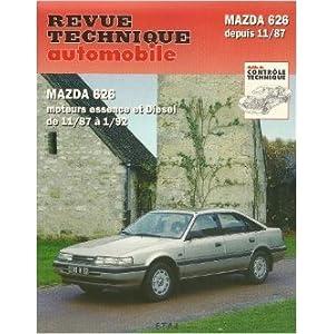 Revue Technique Automobile, N° 528.2 Mazda 626 depuis 1988 de Etai ( 10 avril 1995 )