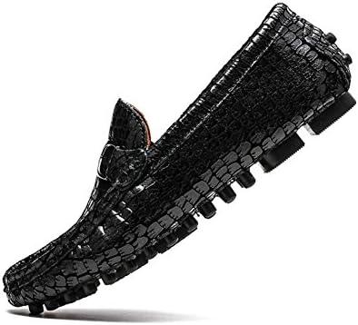 Zapatos de Hombre de Cuero Primavera/Verano Confort/Casual Hombres Zapatos de Guisantes Mocasines y Slip-Ons Transpirable...