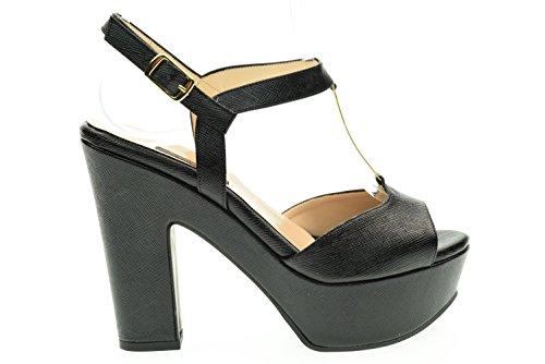 L'AMOUR donna sandalo 335 MIU80 Nero Nero