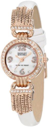 badgley-mischka-dames-watch-decontractee-quartz-batterie-reloj-ba-1212rgwt