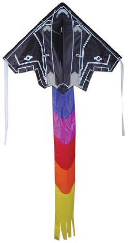 Premier Kites Easy Flyer Kite (Large) - Stealth - Flyer Kite