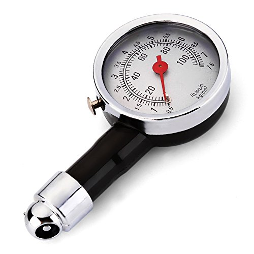Kranich® Auto Motorrad Reifen Reifendruckmesser Luftdruckprüfer Reifendruckprüfer Messgerät
