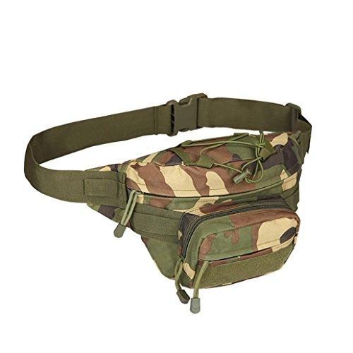 Bauchtasche Hüfttasche ,LMMVP Outdoor Trekking Hip Bag Camping Wandern Taschen D