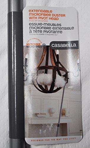 Casabella ausziehbar Mikrofaser Duster mit Pivot Head
