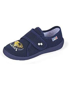 Yaro - Zapatillas de estar por casa de algodón para niño Azul azul
