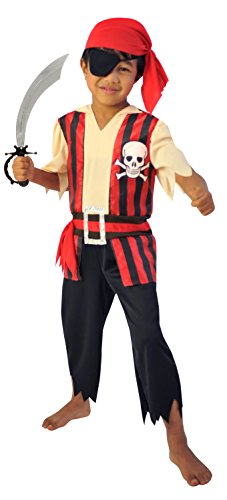 Cesar-F531--Kostüm Pirat 3/5Jahre-8/10Jahre