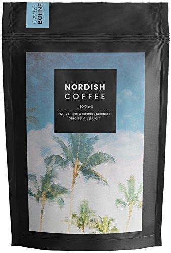 NEU: Nordish.Coffee Tropicblue – 500 g Kaffeebohnen – Premium Kaffee Ganze Bohnen –...