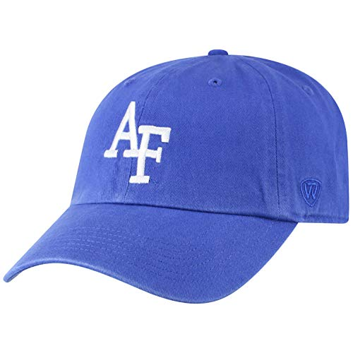 Top of the World Herren Mütze NCAA verstellbar Relaxed Fit Team Icon, Herren, NCAA Men's Adjustable Hat Relaxed Fit Team Icon, Air Force Falcons Royal, Einstellbar -
