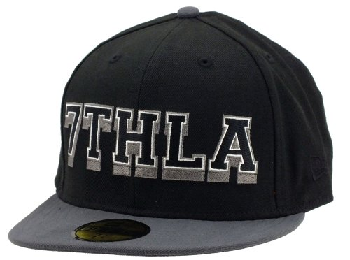 New Era 7thla Cap The Hundreds Collabo Black / Grey - 7 1/4 - 58cm