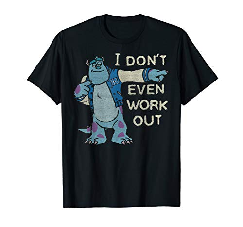 Disney Pixar Monsters University I Don't Even Workout Sully T-Shirt