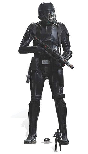 deathtrooper Karton Ausschnitt, Mehrfarbig (Star Wars Karton Ausschnitte)