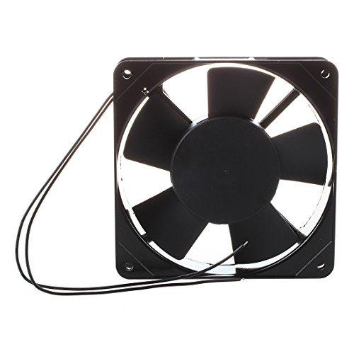 Ventilador Enfriador - SODIAL(R) AC 220V-240V 120x120x25mm ventilador de enfriamiento para PC...