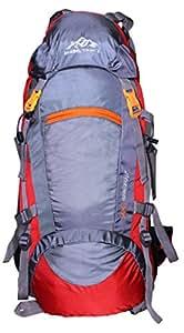 MOUNT TRACK 55 Ltr Red-Grey Rucksacks