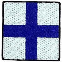 Patch stemma ricamato applique Bandiera Codice segnali