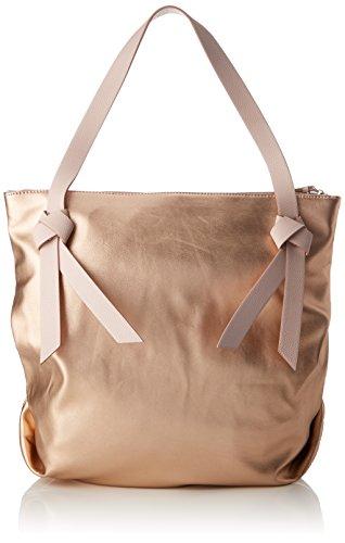 ESPRIT Damen 028ea1o032 Tote, Orange (Copper), 13x36x36,5 cm (Orange Stoff-handtaschen)