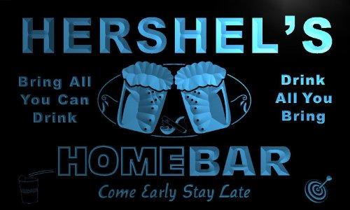 p888-b Hershel's Home Bar Beer Family Last Name Neon Light Sign Barlicht Neonlicht Lichtwerbung