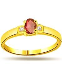 surat diamond 18k yellow diamond ring - Wedding Rings Online