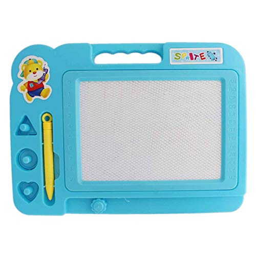 Home Delivered Educational Writing and Drawing Magic Slate for Kids (Assorted Color)