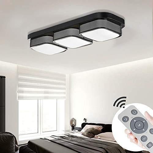 MYHOO 36W LED Modern Deckenlampe Dimmbar Deckenleuchte Schlafzimmer Küche Flur Wohnzimmer Lampe Wandleuchte Energie Sparen Licht [Energieklasse A++]