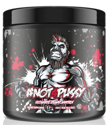 BPSPharma #Not4Pussy Ultimate Pump Matrix Pumpbooster Pre-Workout Booster  Bodybuilding 250 g