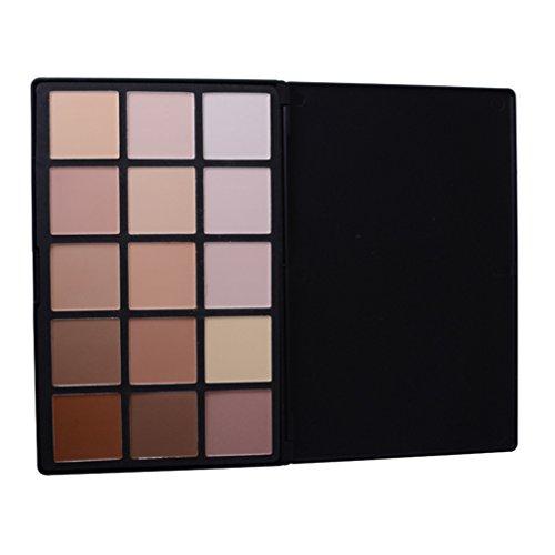 Pure Vie® Professionale 15 Colori Correttore Cosmetico Camouflage Palette Trucco - Adattabile a Uso Professionale che Privato