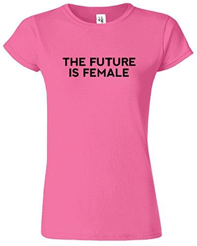 The Future Is Female T-Shirt Madchen Feministes Des Femmes Azalea / Noir Design