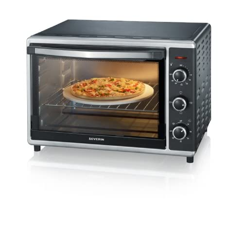 41uRDm2i0ML. SS500  - Severin 2058 Toast Oven with Convection, 42 Litre, 1800 W, Black/Silver, Steel