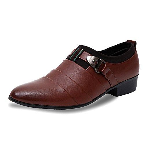 Formal Sapatos Paris Homens Oxford Clássico Hill Marrom 6xq4nwIX