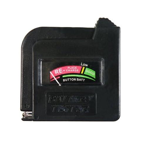 Universal battery Testeur Checker AA AAA C D 9V Button