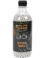 Elite Force Umarex - Bolas para airsoft (2700 unidades, calibre 6 mm, 0,20 g)
