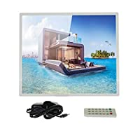 Crony 12 Inch Digital Photo Frame with High Resolution and Widescreen LCD Music and HD Video
