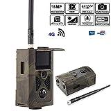SSCJ Wildlife Trail-Kamera 16MP 1080P mit Infrarot-Nachtsicht bis zu 65ft / 20m IP65-Spray wasserdicht für Outdoor-Natur, Garten, Sicherheit