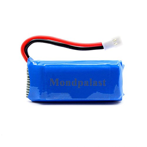 Mondpalast @ Lipo Batterie Akku 3,7V 500mAh x5 + 6-in-1 Ladegerät für RC Quadcopter F180C JJRC H37 H6D H6C H31 Hubsan X4 H107C H107D H107L H107P H108 JXD392 388 Wltoys V939 V252 UDI U816A Walkera Super Mini Genius CP FPV Drone - 2
