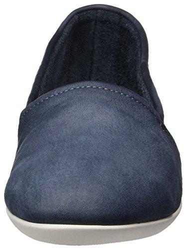 Softinos Damen Olu382sof Washed Slipper Blau (Navy)