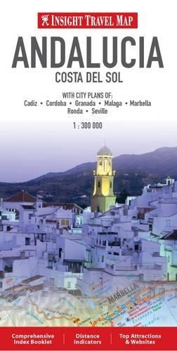 Insight Travel Maps: Andalucia & The Costa Del Sol por GeoGraphic