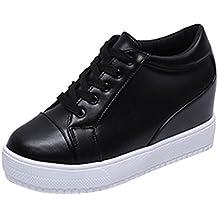 Zapatillas de Invierno Sala para Mujer Zapatos Deportivos Plataforma por ESAILQ C