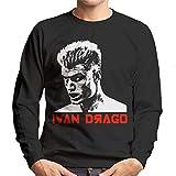 Ivan Drago Movie Poster Rocky IV Men's Sweatshirt