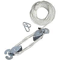 Polea de carga de 180 kg 20 m de cuerda de nylon seis barras desviación